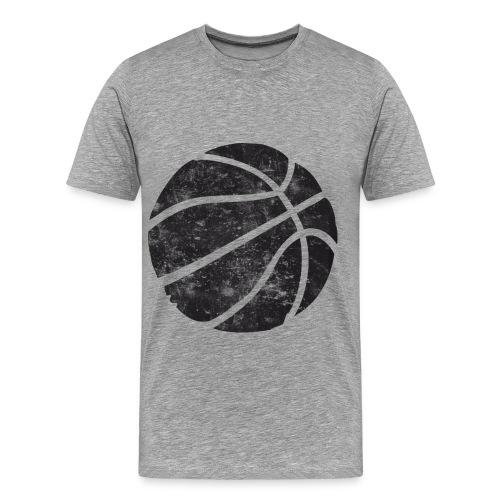 Retro Basketball - Men's Premium T-Shirt