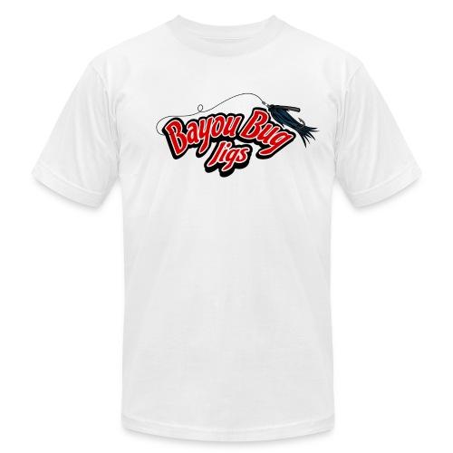 BBJ American Apparel (front & back) - Men's Fine Jersey T-Shirt
