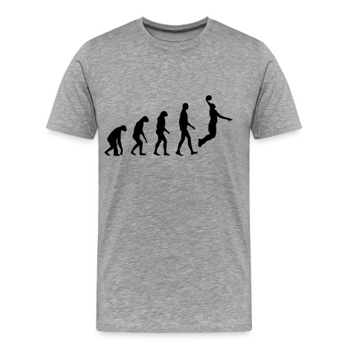 Basketball Evolution - Men's Premium T-Shirt