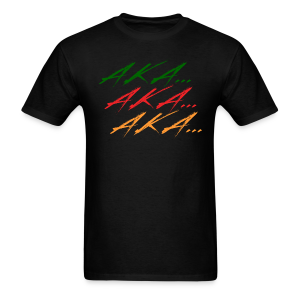 AKA 2 DOG - Men's T-Shirt