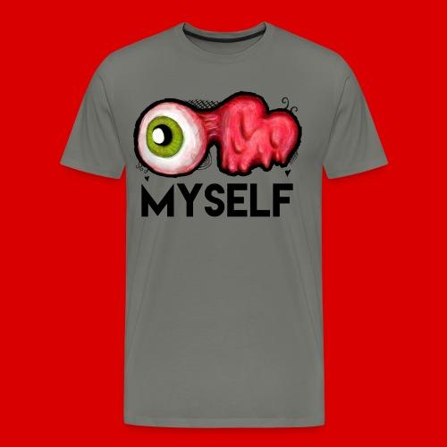 EYE LOVE MYSELF : Men's Premium T-Shirt - Men's Premium T-Shirt