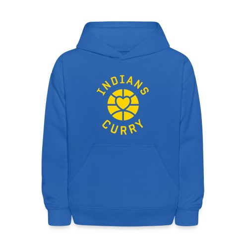 Indians Love Curry Kids Hoodie - Kids' Hoodie