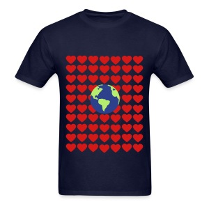 Love earth day  Men's T-Shirt - Men's T-Shirt