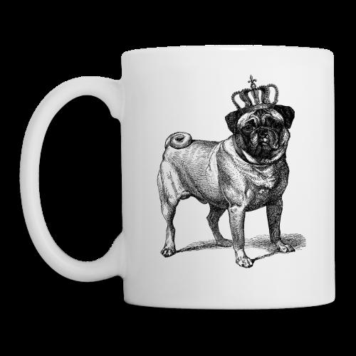 Pug Royal Mug - Coffee/Tea Mug