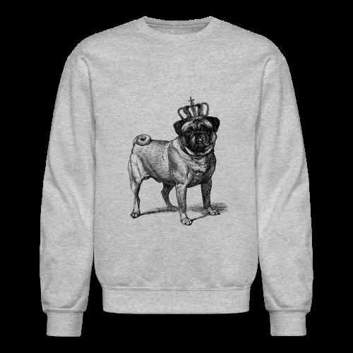 Pug Royal Long-Sleeve - Crewneck Sweatshirt