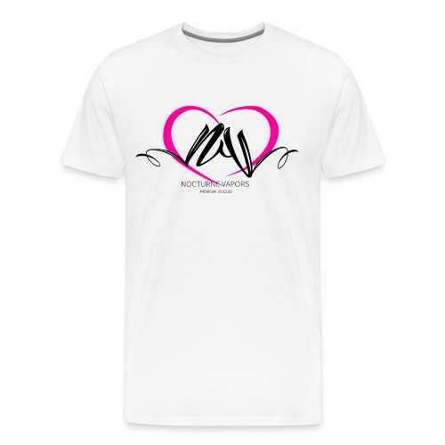 Nocturne Vapors Valentine's Mens T-Shirt - Men's Premium T-Shirt