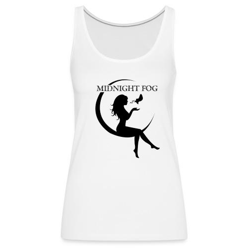 Midnight Fog Ladies Sleeveless T-Shirt - Women's Premium Tank Top