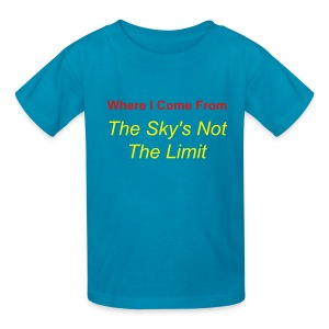 Kid's Sky Limit T Shirt - Kids' T-Shirt