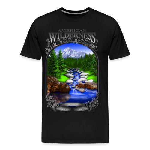 AMERICAN WILDERNESS - Men's Premium T-Shirt
