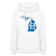 Hoodies ~ Women's Hoodie ~ Lions Country - Michigan