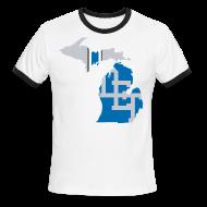 T-Shirts ~ Men's Ringer T-Shirt ~ Lions Country - Michigan