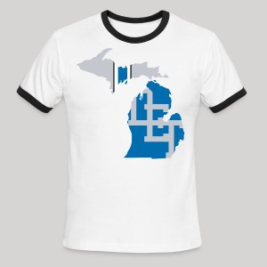 Lions Country - Michigan - Men's Ringer T-Shirt