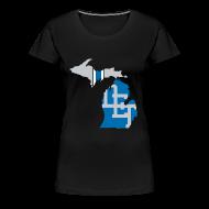 Women's T-Shirts ~ Women's Premium T-Shirt ~ Lions Country - Michigan