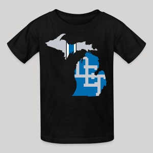 Lions Country - Michigan - Kids' T-Shirt