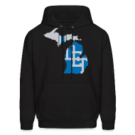 Hoodies ~ Men's Hoodie ~ Lions Country - Michigan