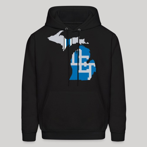Lions Country - Michigan - Men's Hoodie