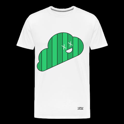 Green Cloud Men's T-Shirt - Men's Premium T-Shirt