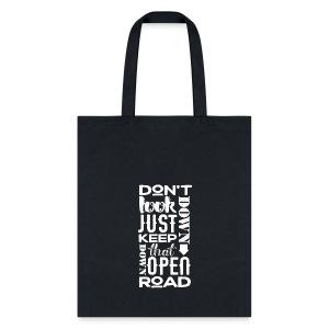 Falling Lyric Tote Bag - Tote Bag