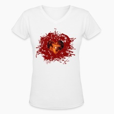 supernova heart Women's T-Shirts