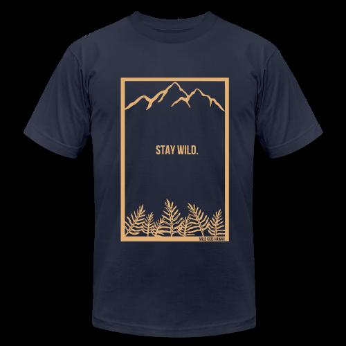 Stay Wild Shirt  - Men's  Jersey T-Shirt