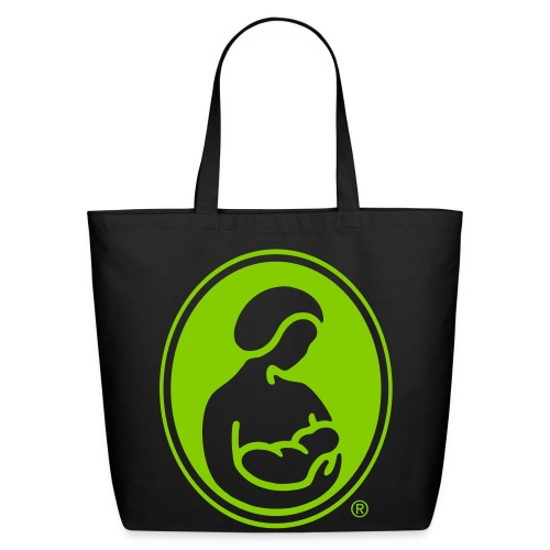 LLL Logo Eco-Friendly Cotton Tote - green logo - Eco-Friendly Cotton Tote