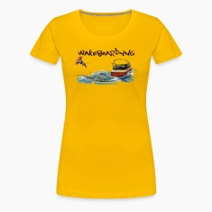 wakeboarding Women's T-Shirts