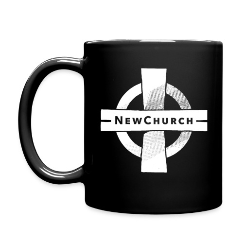 Black NewChurch Coffee Mug - Full Color Mug