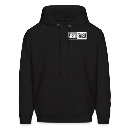 Makeshift Tragedy Front and Back - Men's Hoodie