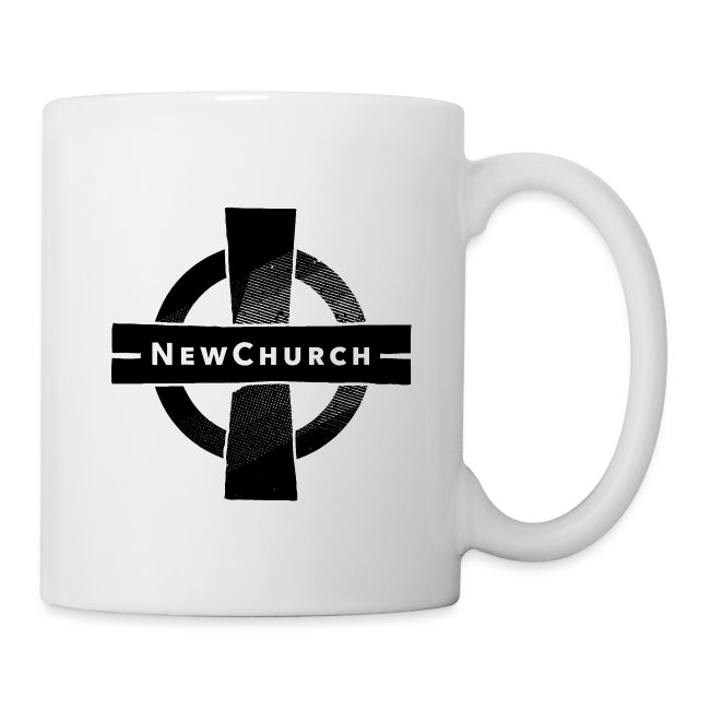 White NewChurch Coffee Mug