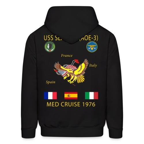 USS SEATTLE 1976 CRUISE HOODIE - Men's Hoodie