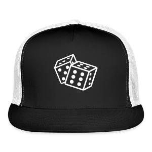 Crooked Dice black on black - Trucker Cap