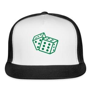 Crooked Dice Green - Trucker Cap