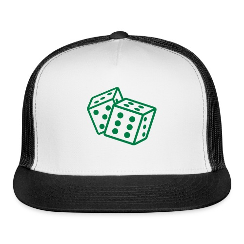 Crooked Dice Green - Trucker Cap