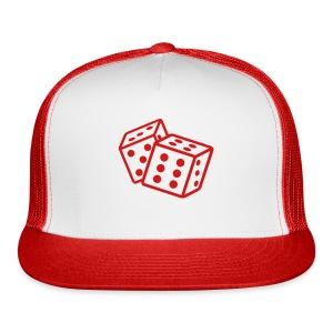 Crooked Dice red - Trucker Cap