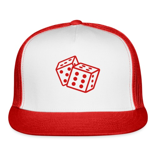 Crooked Dice red - Trucker Cap