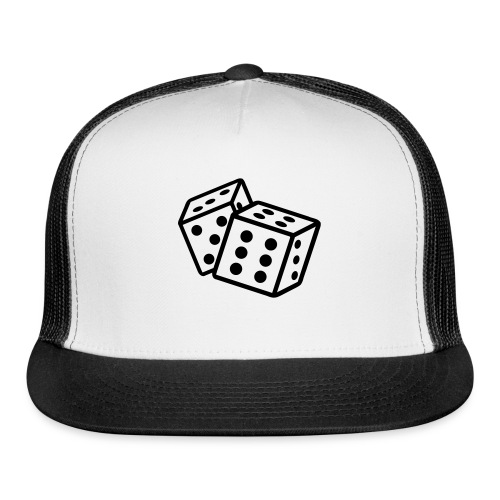Crooked Dice Black - Trucker Cap