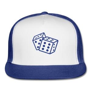 Crooked Dice Blue - Trucker Cap