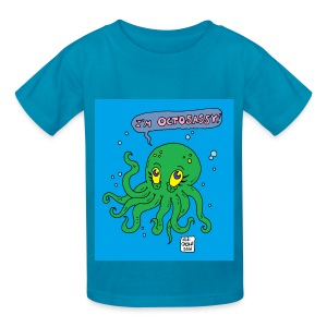 kid octo - Kids' T-Shirt