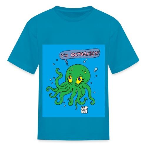 kid octo - Kids' T-Shirt
