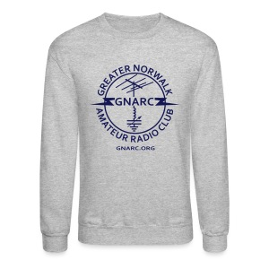 GNARC Sweatshirt - Blue logo on FRONT - Crewneck Sweatshirt