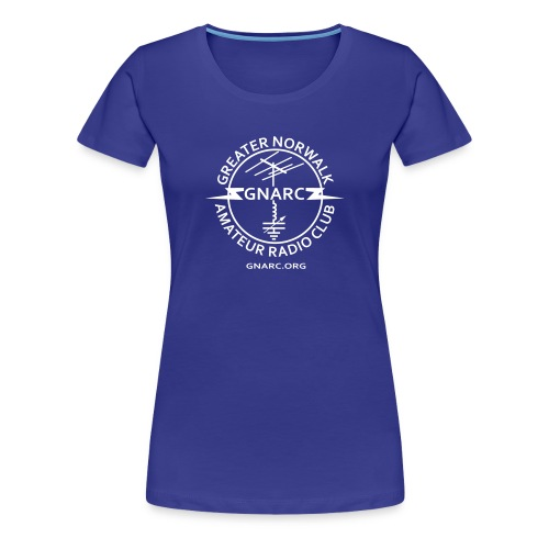 GNARC Ladies T White logo on front - Women's Premium T-Shirt