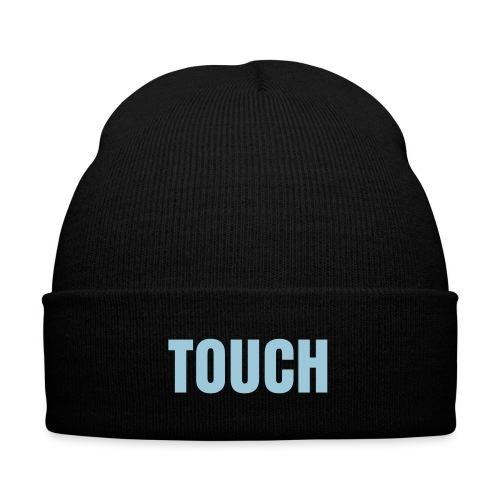 Touch Beanie - Knit Cap with Cuff Print