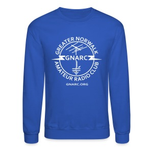 GNARC Sweatshirt - White logo on FRONT - Crewneck Sweatshirt