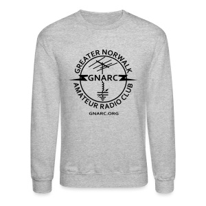 GNARC Sweatshirt - Black logo on FRONT - Crewneck Sweatshirt