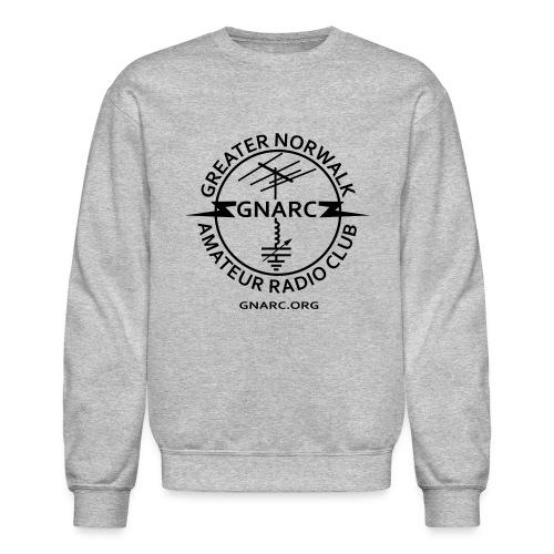 GNARC Sweatshirt - Black logo on FRONT - Crewneck Sweatshirt