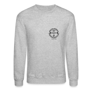 GNARC Sweatshirt - Black logo Front AND Back - Crewneck Sweatshirt
