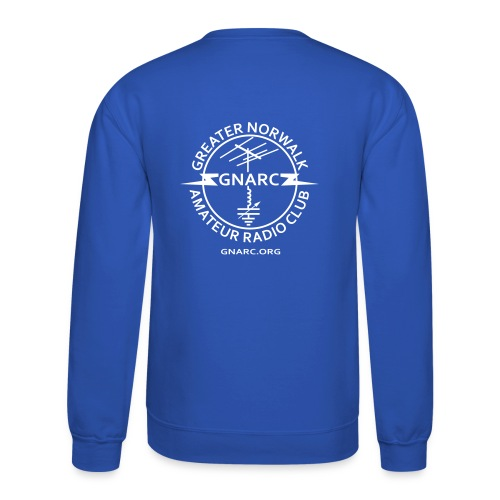 GNARC Sweatshirt - White logo on BACK - Crewneck Sweatshirt