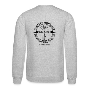 GNARC Sweatshirt - Black logo on BACK - Crewneck Sweatshirt