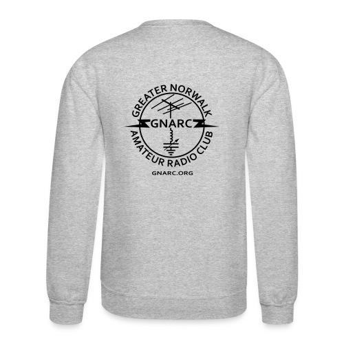 GNARC Sweatshirt - Black logo on BACK - Crewneck Sweatshirt