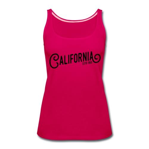 California - Women's Premium Tank Top